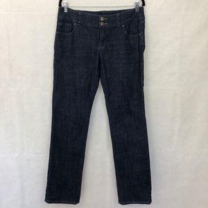 Cabi Straight Leg Dark Wash Jeans 10